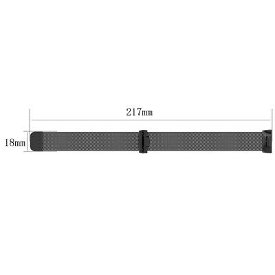 1X Fits For Fitbit Charge 3/SE Metal Watch Band Bracelet Strap Wristband Replace
