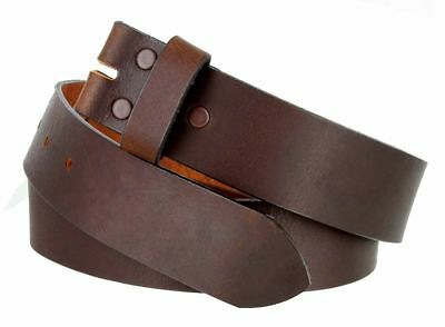 """5138 Made in USA Full Grain Leather Casual Jean Belt Strap 1-1/2"""" (38mm) Wide"""