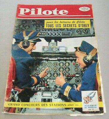 Pilote - N. 002 - 1959 - Nouvel Aeroport D'orly - Asterix Barbe Rouge - Rare