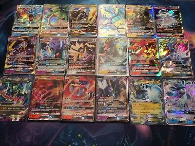 Pokemon TCG – Lotto 80 Carte originali +1 Cards GX o EX in inglese