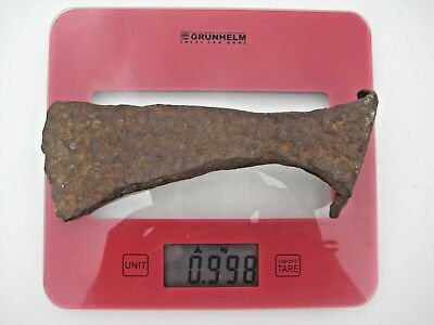 ANCIENT VIKING NORDIC IRON BATTLE AXE 7 - 8th CENTURY AD