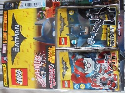 LEGO The Batman - Comic/Magazine (Issue 4) - Two Limited Edition Minifigures