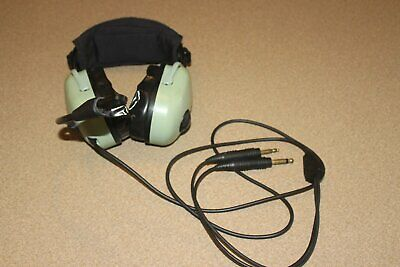 abf1ce7d80b DAVID CLARK H20-10 Aviation Headset - Black   Green 06-5A -  159.99 ...