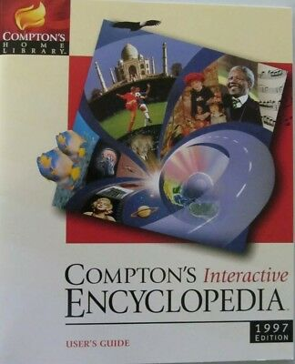 COMPTON/'S HOME LIBRARY INTERACTIVE ENCYCLOPEDIA  CD-ROM NEW  5390102432577