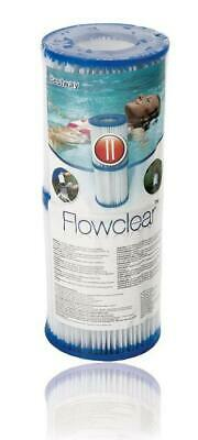 Bestway Filter Cartridge 2 Pack Size 2 for 530/800 gal/hr pumps Swimming Pool