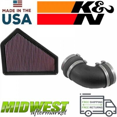 K&N Performance Air Intake System Fits 2009-2015 Cadillac CTS-V 6.2L V8