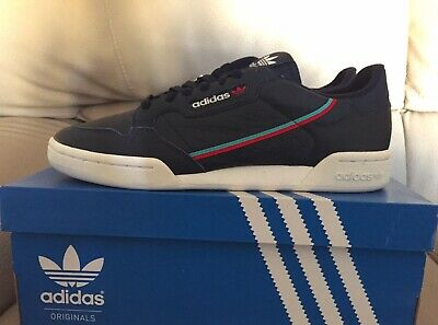 sports shoes f942a aae96 Adidas Continental 80 Collegiate Navy EU 44 UK 9.5 US 10 White B41670