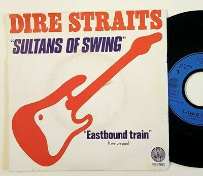 """Dire Straits : Sultans Of Swing ♦ X-Rare French Only 7"""" ♦ + 1978 Live"""
