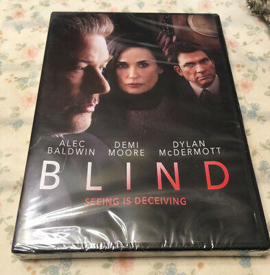 Blind - Seeing is Deceiving (DVD, 2017) - Free Shipping! Alec Baldwin,Demi Moore