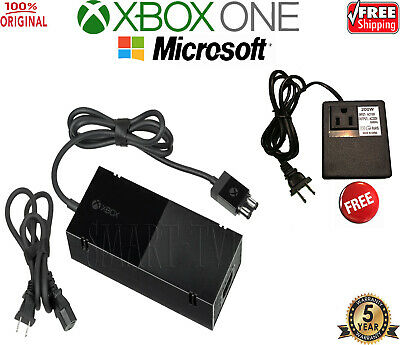 New OFFICIAL Microsoft XBOX ONE Power Supply (Original OEM AC Adapter) + Cable