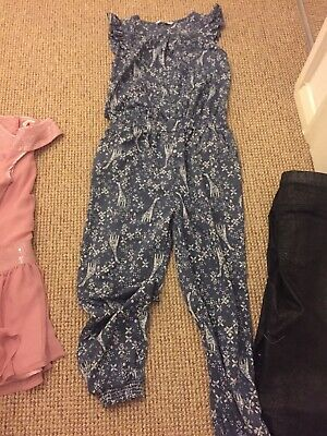 Girls Clothes Bundle Age 10 Years, Pants , Fred's &jumpsuit George, Bluezoo