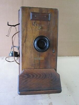 Antique Vintage Western Electric Railroad Dispatcher Station Wall Telephone Part
