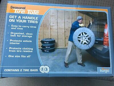 8c7d7bbd66a NEW NIB Kurgo Seasonal Winer Summer Tire Tote Cover Protection Bag Pack Of 2