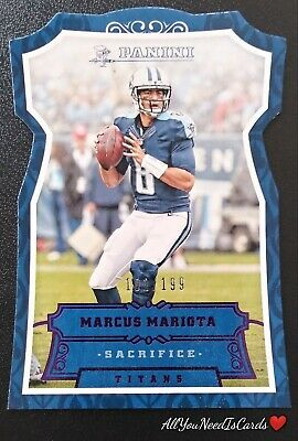 Marcus Mariota !! 2016 Panini 10 Cards ! Team Set ! Titans