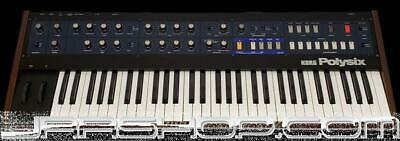 Korg Polysix Analog Keyboard with MIDI and Direct Out Mods - Used JRR Shop