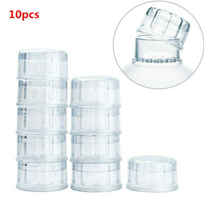 10Pcs Caps Covers for Boba Milk Tea Cocktail Drink Bar Bartending Shaker Cup HQ