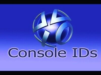 PS3 Console ID + PSID IDPS Unban 100% private MESSAGE DELIVERY