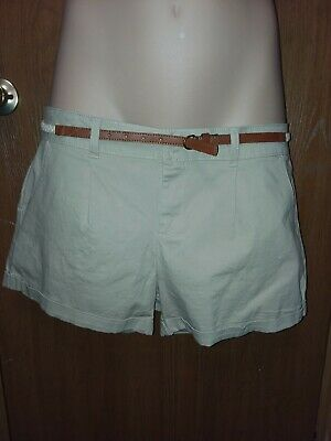 Professional Sale Ladies Mossimo Target Mid Rise Midi Shorts Tan Khaki Sz 10 Clothing, Shoes & Accessories