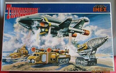 1995 Matchbox IMEX MODEL CO., INC. THUNDERBIRDS TB – 2 LARGE SET
