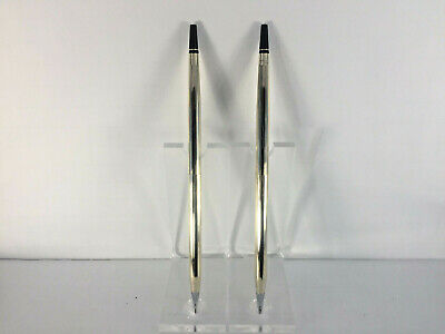 Used 10K Classic Century Replacement Deskset Pen/Pencil In Gold!  Made In U.s.a.