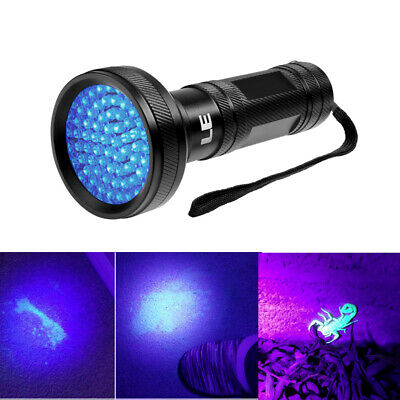 LE UV Ultra Violet LED Flashlight Blacklight Light  68 leds US STOCK