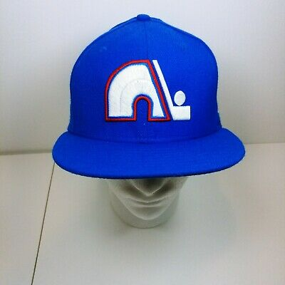 los angeles 61d2d 4b19c Colorado Avalanche NHL New Era Adult 59FIFTY Fitted Cap Hat 7-3 8 Vintage