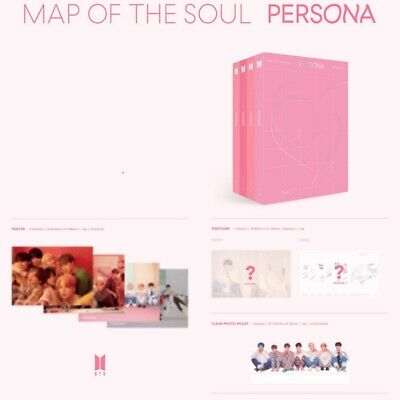 BTS Map of the SOUL PERSONA Album ver3 CD+Photobook+Card KPOP🔥