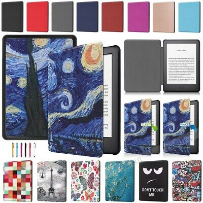 For Amazon All-New Kindle 10th Gen 2019 Premium Slim PU Leather Smart Case Cover