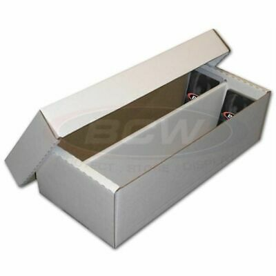 BCW Card Storage Shoe Box Cardboard 1600ct Holds 1600-2280 Cards