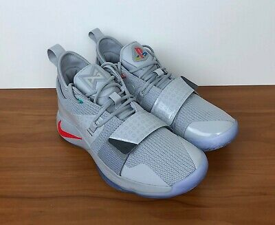 95c63310209 NIKE PG 2.5 PLAYSTATION Paul George Wolf Grey Multi-Color Mens QS DS ...