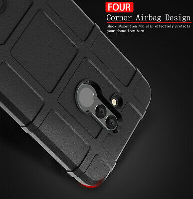 For Huawei Mate 10 20 Pro Nova 3e 4 Shockproof Silicone Hybrid Rugged Case Cover