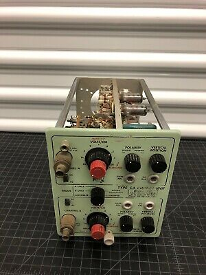 Tektronix Type-CA Plug in Unit