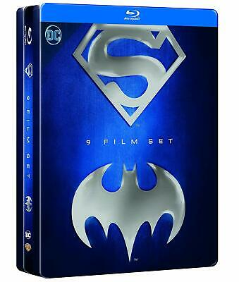 Batman/Superman Anthology (9 Blu-Ray) Cofanetto Steelbook, Nuovo, Sigillato