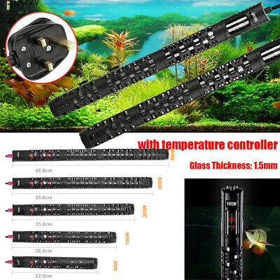 Submersible Aquarium Heater Fish Tank Water Thermostat LED Digital 50W~500W UK