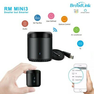 Wifi Rf Smart Home Hub Wireless Remote Controller Broadlink Rm Mini 3 Domotica