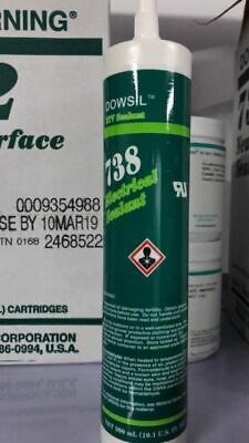 Dow Corning 738 Electrical Sealant RTV Silicone Rubber Adhesive ,300ml