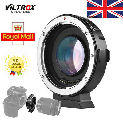 Viltrox EF-M2II Lens Mount Adapter 0.71X for Canon EOS EF Lens to Micro MFT M4/3
