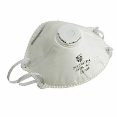 Sealey SSP58 Disposable Dust Mask FFP2S Pack of 10