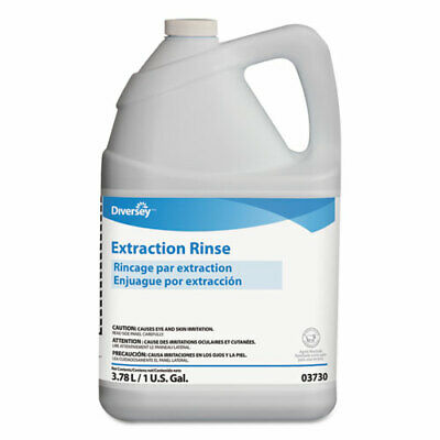 Carpet Extraction Rinse, Floral Scent, 1 gal Bottle, 4/Carton