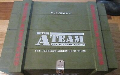 The A-Team - Ultimate Collection Dvd Set Complete Series In Wooden Ammo Box