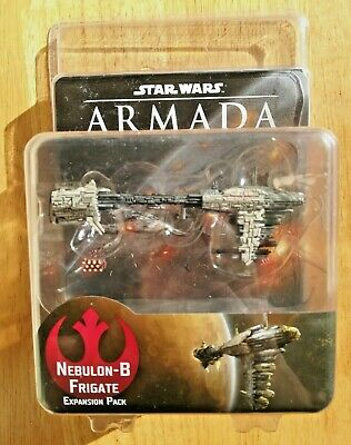 Star Wars Armada Official Nebulon-B Frigate Expansion Pack w/ Tokens Sealed NIP