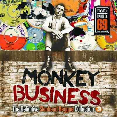 Monkey Business: The Definitive Skinhead Reggae Collection Double Vinyl (2019)