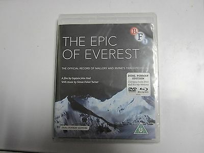 The Epic Of Everest [Dual Format Edition - DVD & Blu ray NEW & SEALED recorded