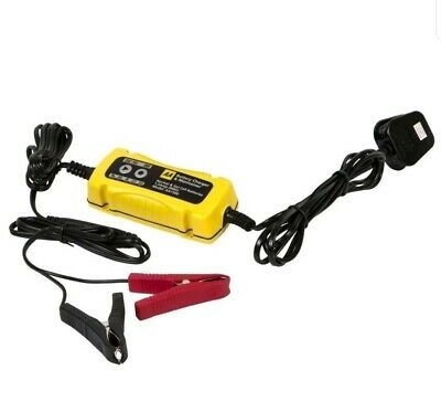 AA Car 1.5A 6V 12V Smart Intelligent Battery Charger & Cable Leads Maintainer