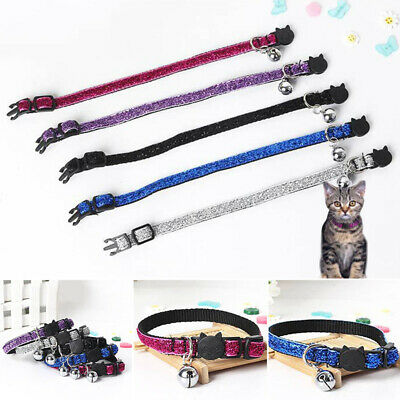 Cute Cat Kitten Collar With Bell Neck New 100% Brand New Size:1.0*30CM One Size