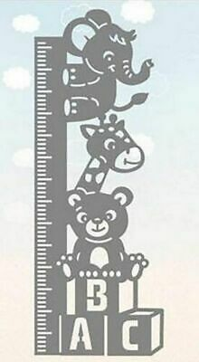 Baby Growth Chart Ruler Border Metal Cutting Dies Cut DIY Card Craft Embossing