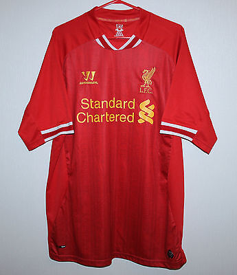 Liverpool England home shirt 13/14 Warrior Suarez Sterling Gerrard