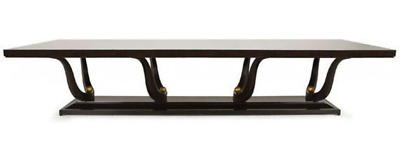 Rrp £15,445 Huge 370Cm Christopher Guy Fontaine Dining Table Seats 12-14 People