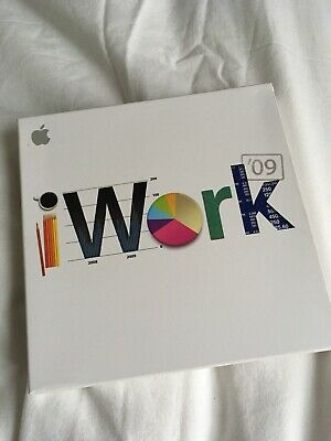 iWork 09 for mac os Boxed And In Good Used Condition
