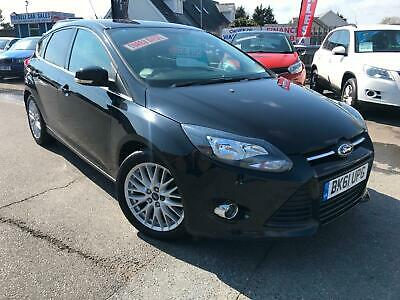 2011 61 FORD FOCUS 1.6TDCi (115BHP) ZETEC 5DR # LOW MILEAGE # FSH